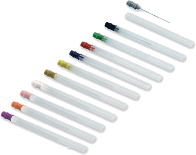 Sterilizovatelná koncentrická elektroda SpesMedica: 30mm/0,45mm oranžová