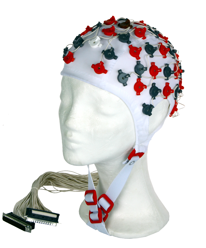 EEG čepice FlexiCAP 64 kanálová: M (55 – 59 cm), (NEOBSAHUJE KABELY PRO PŘIPOJENÍ 45-890 a 45-891)
