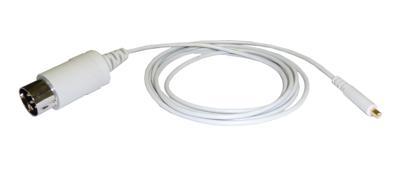 Kabel ke koncentrickým elektrodám Technomed: 5pin DIN, 1,25m