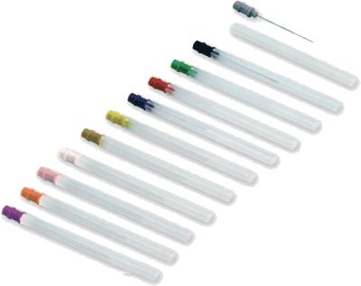 Jednorázová koncentrická elektroda SpesMedica: 25mm/0,30mm  purpurová (25x)