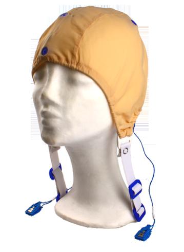 EEG čepice k vyšetření EP: M (55 – 59 cm, červená)