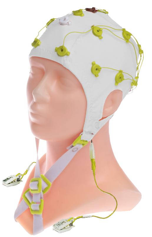 EEG čepice FlexiCAP: S (51 – 55 cm, žlutá)