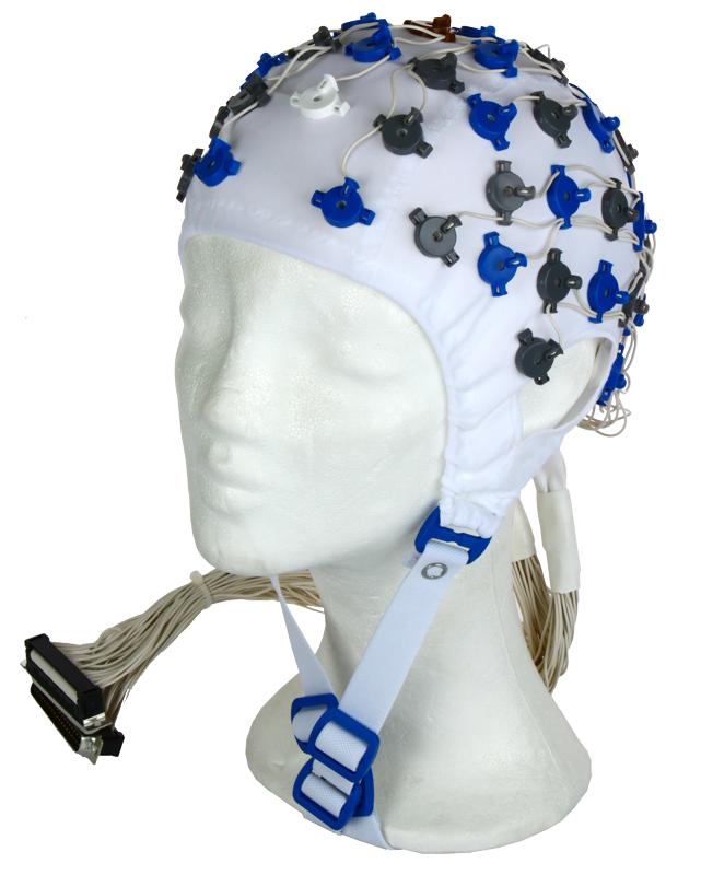 EEG čepice FlexiCAP 64 kanálová: L (59 – 63 cm), (NEOBSAHUJE KABELY PRO PŘIPOJENÍ 45-890 a 45-891)