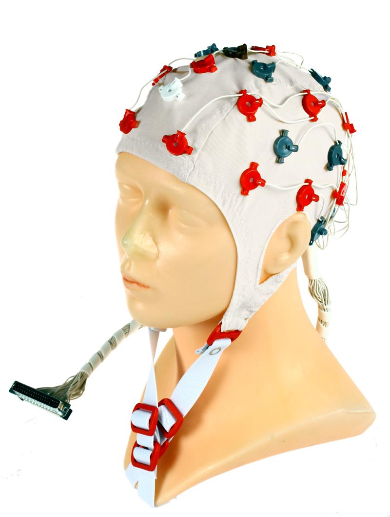 EEG čepice FlexiCAP 32 kanálová: L (59 – 63 cm), (NEOBSAHUJE KABEL PRO PŘIPOJENÍ 45-890)