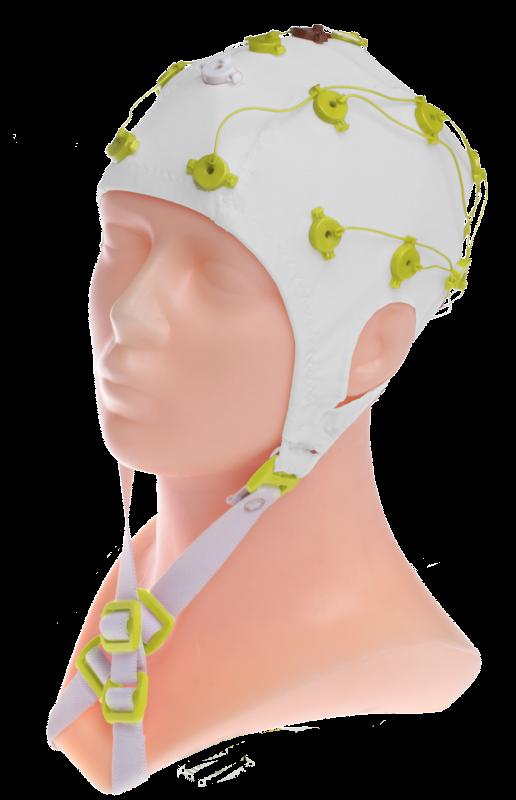 EEG čepice FlexiCAP UP: S (51 – 55 cm, žlutá)