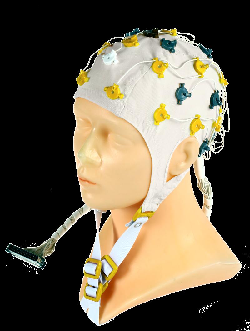 EEG čepice FlexiCAP 32 kanálová: S (51 – 55 cm), (NEOBSAHUJE KABEL PRO PŘIPOJENÍ 45-890)