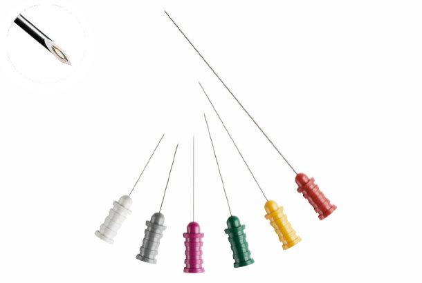 Jednorázová koncentrická jehlová elektroda Ambu: 30 mm x 0,35 mm, 28G fialová (25x)