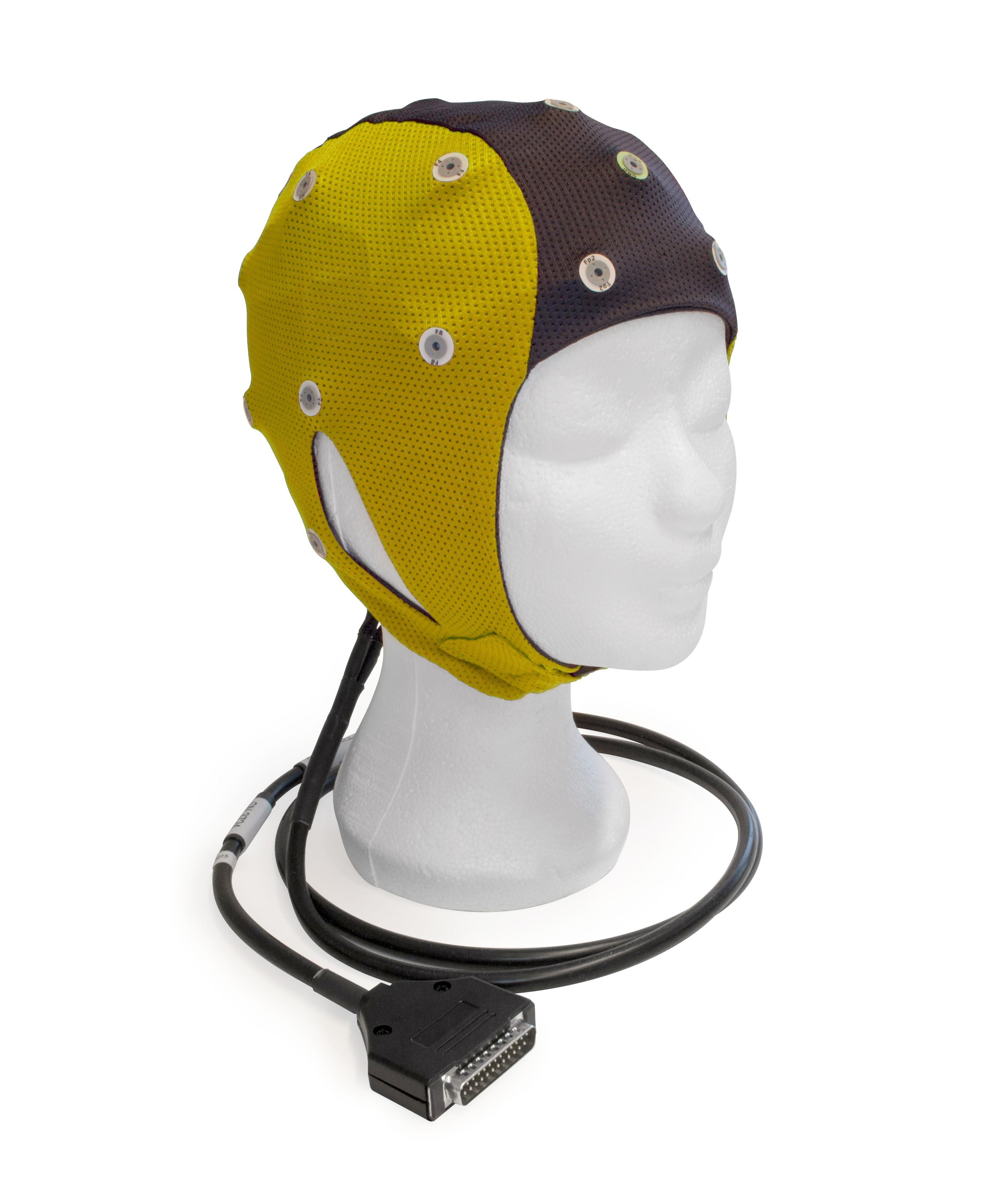 EEG čepice ANT-Neuro waveguard™ connect: S (47 – 51 cm, Žlutočerná)