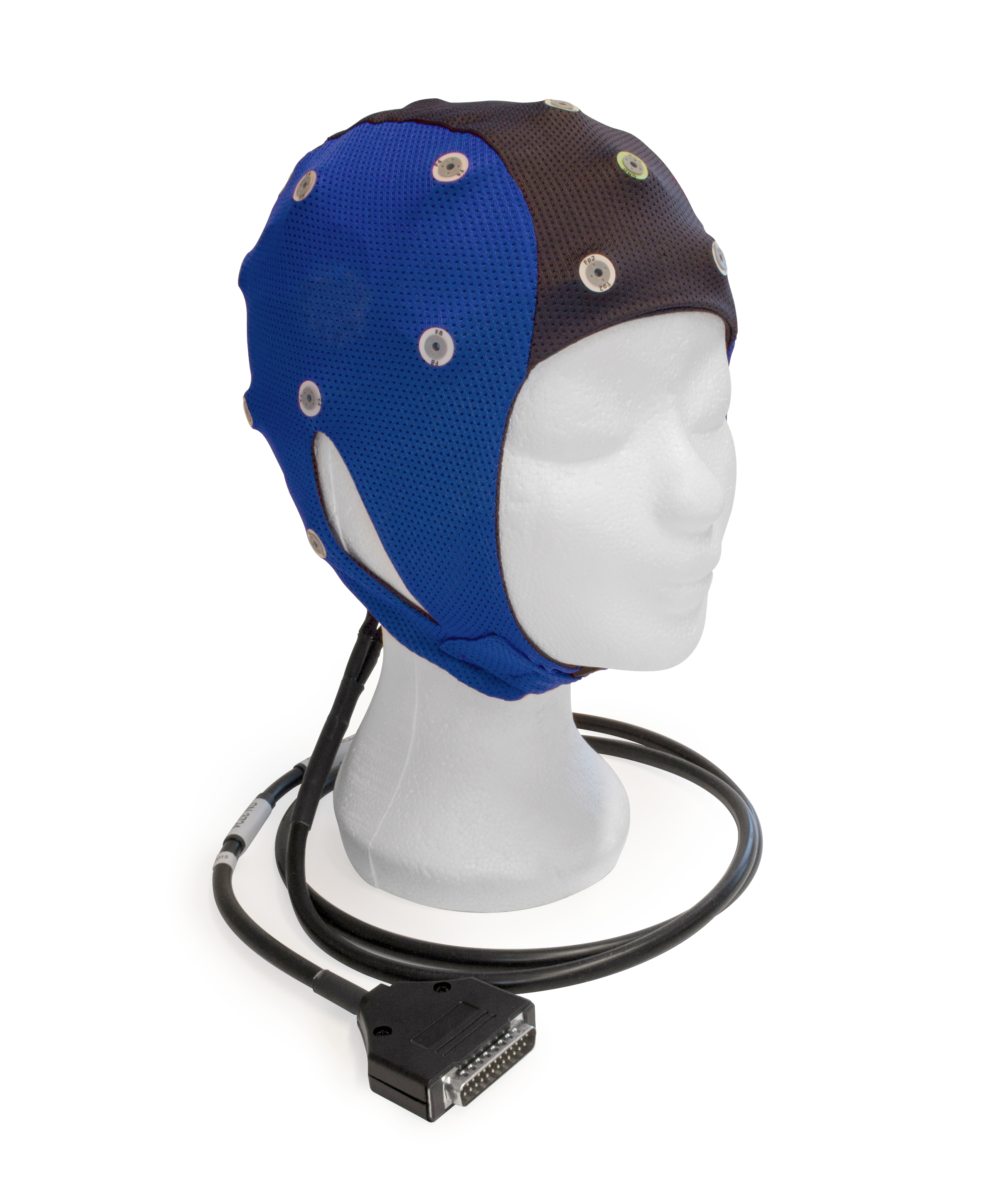 EEG čepice ANT-Neuro waveguard™ connect: L (56 – 61 cm, Modročerná)