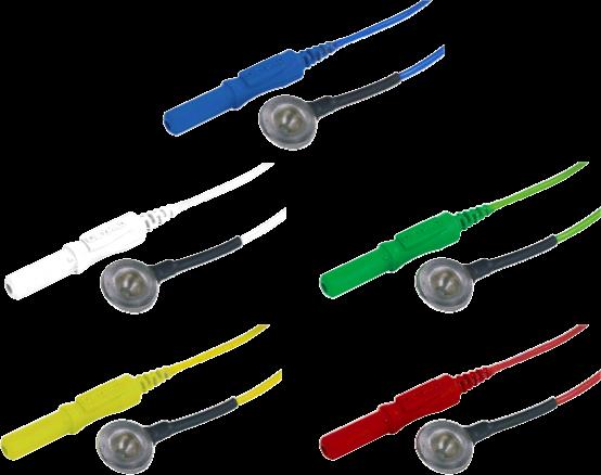 Kalíšková elektroda 9mm Ag (stříbrná): mix 10ks