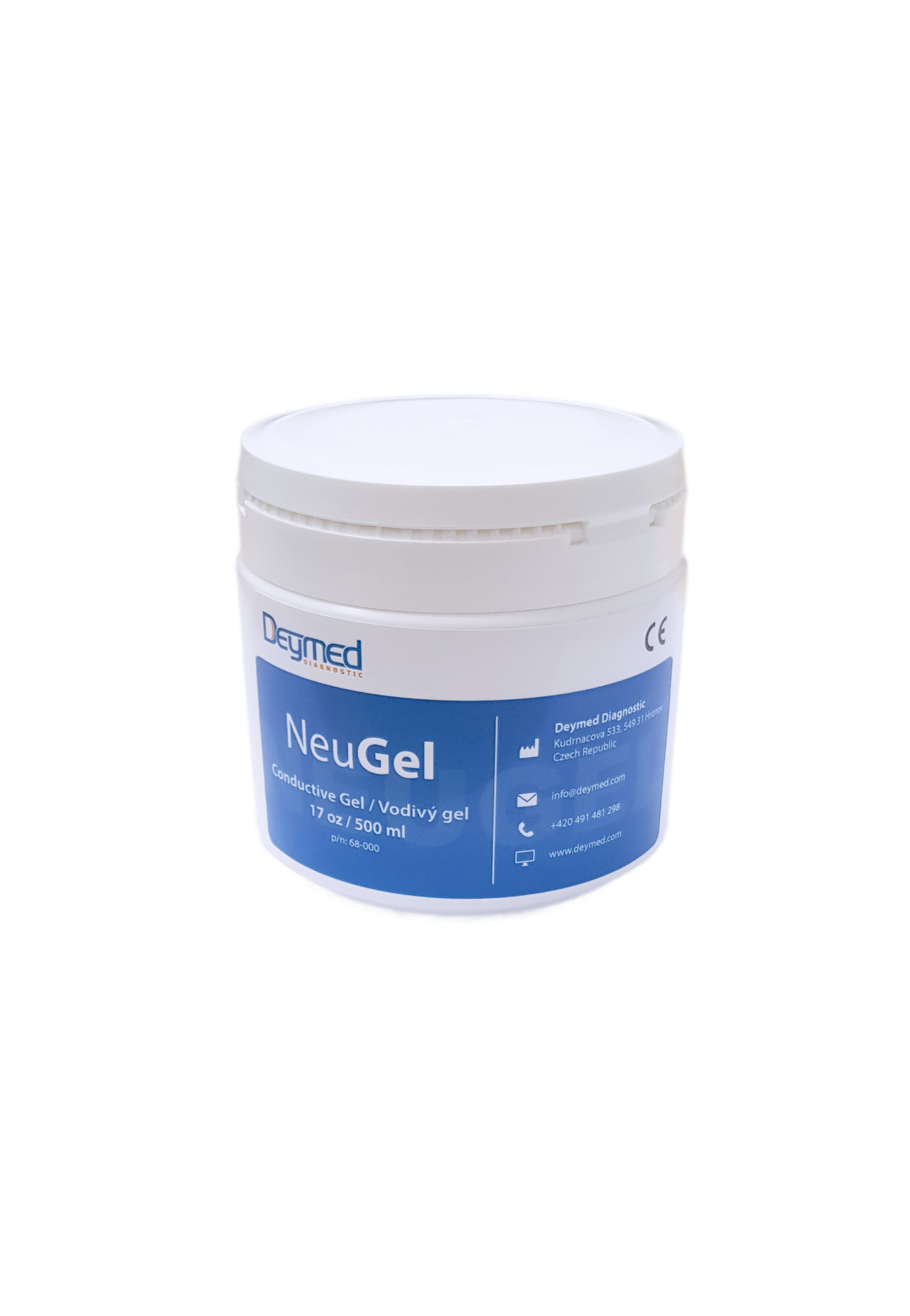 NeuGEL - EEG elektrovodivý gel Deymed: 500ml (17 oz)