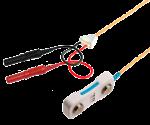 BAR elektroda nerezová - 2x TP konektor