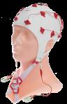 EEG čepice FlexiCAP: M (55 – 59 cm, červená)