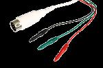 Kabel  pro připojení předgelovaných elektrod se zemnící elektrodou: 1m