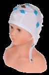 EEG čepice kojenecká 10 elektrod: IC1-10 (32 – 39 cm, hnědá)