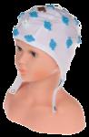 EEG čepice kojenecká 20 elektrod: IC1 (32 – 39 cm, hnědá)