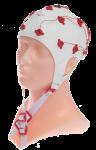 EEG čepice FlexiCAP UP: M (55 – 59 cm, červená)