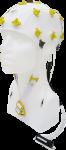 EEG čepice FlexiCAP 19+6 kanálů - nový IFCN standard: S (51 – 55 cm), žlutá, NEOBSAHUJE KABEL PRO PŘIPOJENÍ 45-893