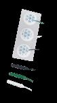 Nalepovací elektrody, průměr 25 mm (3 ks)