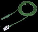 Kabel pro připojení nalepovacích elektrod - klips konektor 1xTP: 2m