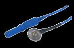 Kalíšková elektroda 9mm Sn (cínová): modrá