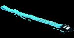 Hrudní pás Deymed: L (120 cm, modrý)