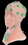 EEG čepice FlexiCAP běžová barva látky